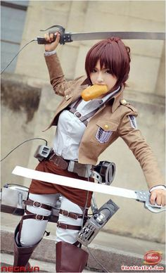 Sasha Braus #cosplay - Attack On Titan (進撃の巨人, Shingeki no Kyojin)