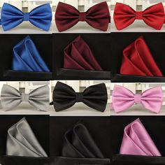 Cheap wedding bow tie, Buy Quality handkerchief set directly from China bow tie Suppliers: SHENNAIWEI silk Solid Business bowtie men vintage purple black yellow silver wedding bow tie pocket square handkerchief set lote Vintage Wedding Suits, Black Suit Wedding, Wedding Dress Suit, Bow Tie Wedding, Wedding Men, Vintage Men, Dress Suits, Blue Wedding, Trendy Wedding