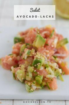 Avocado-Lachs-Salat - www.kochhelden.tv