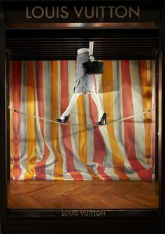 Like windows open onto a poetic otherworld, the Louis Vuitton window displays are summoning the splendour of the circus to celebrate the holiday season.