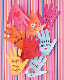 Hand Shaped Valentine