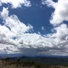 Cortina de agua. #lluvia #paisaje