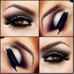 Many types of eye make-up are immensely introducing in the world of style & beauty. Different techniques of Eyes Makeup in Pakistan are also earning great fame.Pakistani Eye Makeup in Winter, Eye Makeup in Beautiful Eye Makeup, Love Makeup, Beautiful Eyes, Makeup Tips, Beauty Makeup, Hair Beauty, Pretty Eyes, Makeup Ideas, Dark Makeup