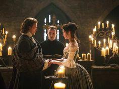 Netflix - Outlander - Casamento Claire e Jamie - Noivas das Series Favoritas no www.blogueirapenoaltar.com