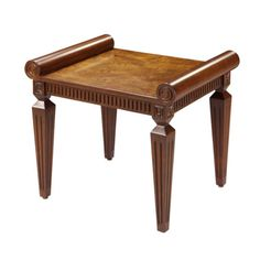 Mouse over image to zoom  Zoom InZoom Out  Sell one like this  	  TRADITIONAL FRENCH REGENCY STYLE DECOR FURNITURE BURL WOOD VANITY STOOL / CHAIR