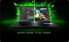 The New Razer Blade Pro: Work and Play Gaming Laptop - 17""