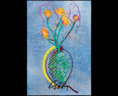 Chihuly's 1st print for 2016: Sterling Ikebana. Learn more at chihulyworkshop.com