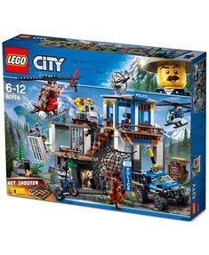 Image 37 of LEGO® City Mountain Police Headquarters Lego City Police Station, Lego Police, Legos, Lego Coast Guard, Modele Lego, Lego Baby, Lego Fire, City Layout, Shop Lego