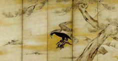 狩野永徳 「鷲補兎図屏風 」桃山時代 Japanese Painting, Japanese Art, Chinoiserie, Images, Geisha, Artists, Radiation Exposure, Japan Art, Geishas