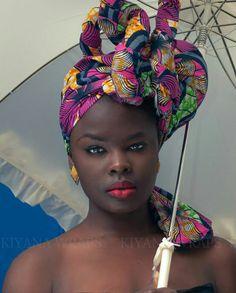#WrapWednesday #headWrap #BlackCulture #Melanin How gorgeous!