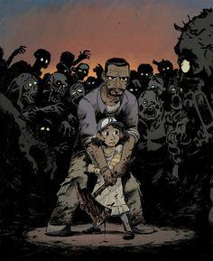 The Walking Dead Game fan-art by Ulysse Malassagne
