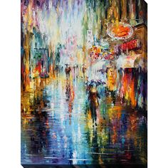 <li>Artist: Leonid Afremov <li>Product Type: Oversized Gallery Wrapped Canvas