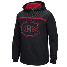 Mens Montreal Canadiens Reebok Black Cross Check Pullover Hoodie One for dad and one for grandpa.just think of the family picture this year! Hockey Shop, Nhl Shop, Vancouver Canucks, Montreal Canadiens, Tampa Bay Lightning, Lightning Logo, New York Islanders, Warriors, Fashion Styles