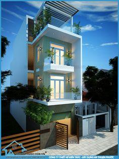 Mẫu thiết kế nhà phố đẹp hiện đại mặt tiền 5m.  Diện tích: 5m x 18m.  Chủ nhà : Anh Tân.  Địa chỉ: Quận Bình Thạnh – Tp. Hồ Chí Minh