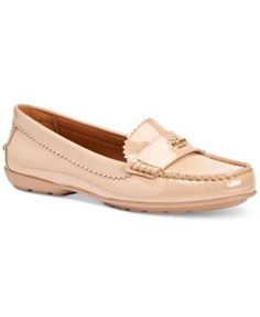 Glossy patent leather or metallic tumbled leather updates the iconic loafer with liquid shine or subtle glimmer. Pinked edges and hand-sewn beefroll details are a nod to classic craftsmanship; Horse a