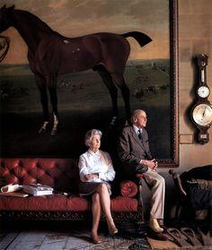 The Duke and Duchess of Devonshire