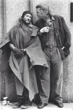 """Robin Williams and Jeff Bridges in """"The Fisher King"""" (1991), dir. Terry Gilliam."""