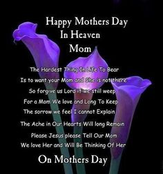 Mothers Day tributes for moms in Paradise
