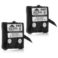 EBL Two-Way Radio Batteries Replacement Battery for Uniden BP-38 BP-39 BT-1013 BT-537 BP-40 FRS-008 (2 Pack) -- See this great product.