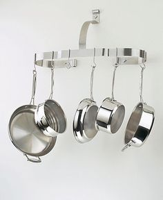 Cuisinart Chef's Classic Stainless Pot Rack, Oval Wall - Cleaning & Storage - Kitchen - Macy's