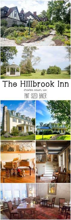 Spend the weekend in the West Virginia panhandle at one of the thee properties at the Hillbrook Inn. It's a sweet destination! #hosted