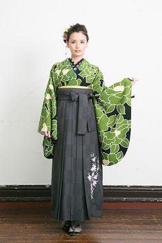 かわいー☆  https://www.facebook.com/KimonoExpress http://www.hakama-furisode.com/hakama/list.html
