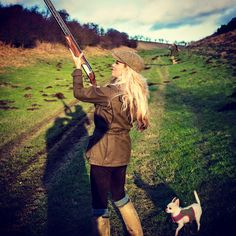 Meet Rachel Carrie, the U.K.'s premier shotgunner!