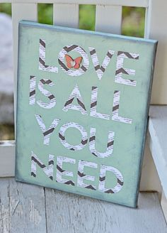 Love is All You Need - Canvas