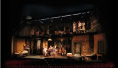 The Diary of Anne Frank. Scenic design by David Korins.