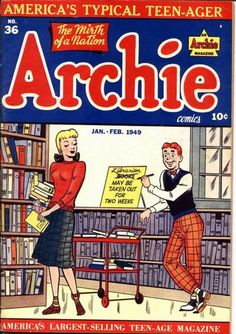 Archie and the librarian...