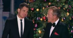 Video: watch michael buble singing with bing crosby - special effects edited duet of white christmas - and the point sheboygan's hit music Christmas Music Songs, Christmas Tunes, Christmas Movies, Michael Scofield, Michael Buble, Marketing En Internet, Classic Jazz, Irving Berlin, Bing Crosby