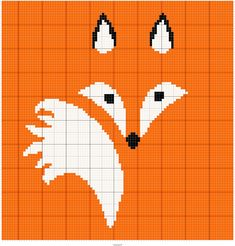Fox Stitch Fiddle is an online crochet, knitting and cross stitch pattern maker. Graph Crochet, Crochet Motifs, C2c Crochet, Tapestry Crochet, Afghan Crochet Patterns, Knitting Patterns, Intarsia Knitting, Knitting Charts, Knitting Stitches