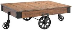 Industrial Maison Coffee Table from Home Decorators $449.00  *Arhaus has a coffee table just like this for more!