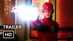 "The Flash Trailer ""Marathon"" (HD) Season 6 Episode 10 Trailer 6x10 Trailer, Flash Tv Series, Candice Patton, The Flash Season, Free Tv Shows, Brittany Snow, Hd Movies Online, We Movie, Grant Gustin"