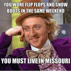 4. More Missouri weather.