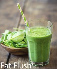 Purple Haze Green Smoothie- Official Fat Flush Recipe