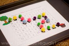 Alphabet Maze. Printables available A through H.