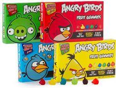 Lekkere angry birds snoep.