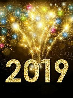 Send Free Colorful New Year Fireworks Card 2019 To Loved Ones On Birthday Greeting Cards By Davia