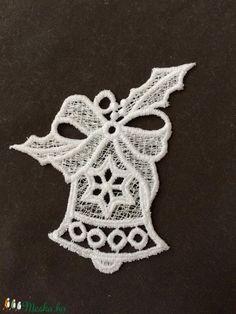 3 db Csipke karácsonyi csengettyű (3db/csomag) (Cottonfresh) - Meska.hu Crochet Earrings, Jewelry, Jewellery Making, Jewerly, Jewelery, Jewels, Jewlery, Fine Jewelry, Accessories