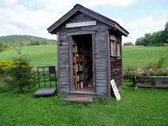 I want a book shed!