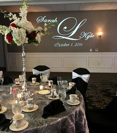 Wedding Reception Inspiration #manchestercountryclub #wedding #reception #lighting
