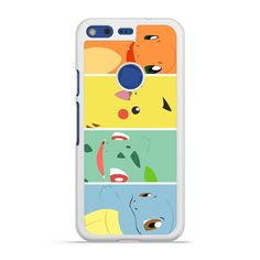 Pokemon Charmander Pikachu Bulbasaur Squirtle Pixel case