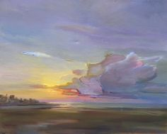 """""""After the Storm"""" by Holly Ready. Oil on Canvas. 24"""" X 30"""". Available at www.maine-art.com."""
