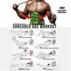 Abs floor exercises