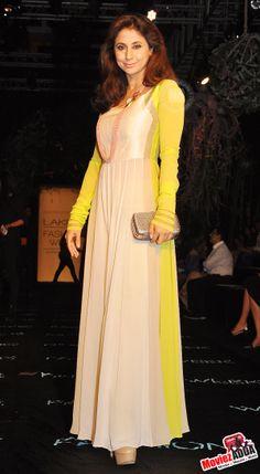 #ManishaKoirala at Lakme Fashion Week 2014
