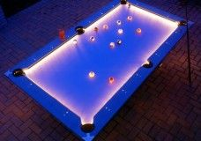 Outdoor Light Up Pool Table