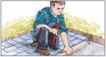 Hvordan legge belegningsstein og betongheller? - Miljøstein Blog, Blogging