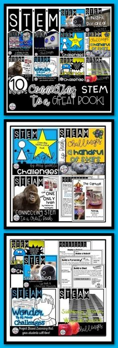 Connecting STEM to a Great Book is a bundle of activities that your students will love and be engaged in while reading the novels. Students will complete STEM challenges that connect with events that take place throughout the story. Your students will love going through the design process as they cover the Next Generation Science 3-5-ETS1-1 & 2.