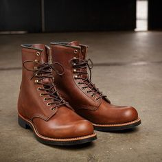 Red Wing 2943 Harvester Boots Men's 8 Inch Amber Harness Leather @menboots @menboots @menboots #redwinglondon #redwingheritage #americanmade #mensstyle #brown #leather #mens #fashion #collection #photo #instafashion #bootseason